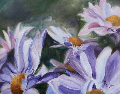 Painting - Purple Petals by Brenda Thour