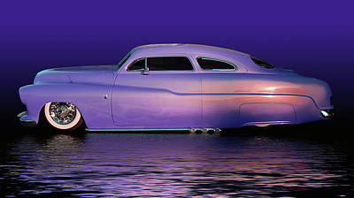 Photograph - Purple Sled by Bill Dutting