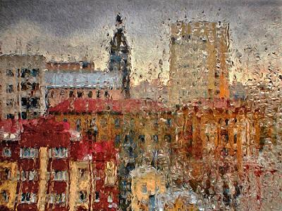Raining Art Print by Vladimir Kholostykh