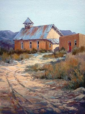 Painting - Red Door by Tina Bohlman