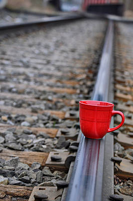 Photograph - Red Tracks by Emily Stauring