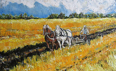 Painting - Refreshing The Soil by Debora Cardaci