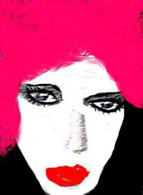 Retro Pink Art Print