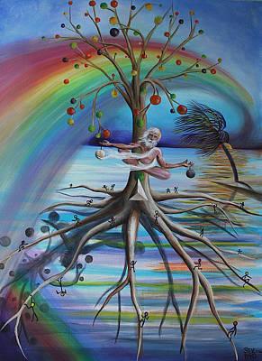Rising Above Illusion Art Print