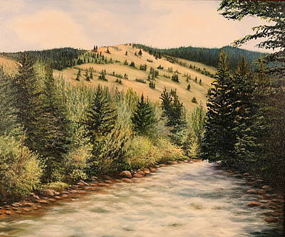 Rock Creek Art Print