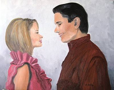 Painting - Romance by Maria Mills