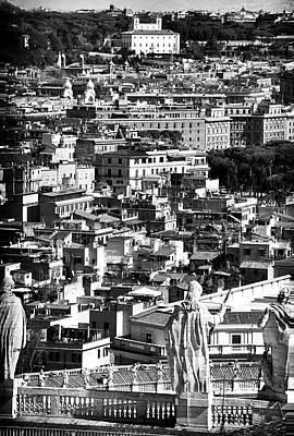 Photograph - Rome Cityscape 1 by John Rizzuto