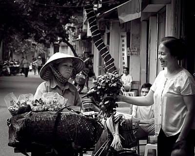 Photograph - Rose Vendor by Tim Nichols
