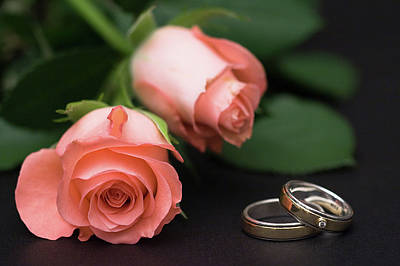 Photograph - Roses And Rings by Stefan Nielsen