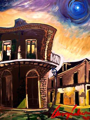Royal St Sunrise 2 Art Print