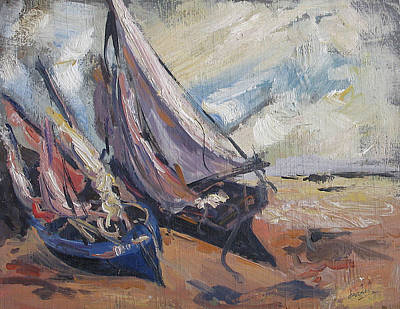 Painting - Sail Boats by Debora Cardaci