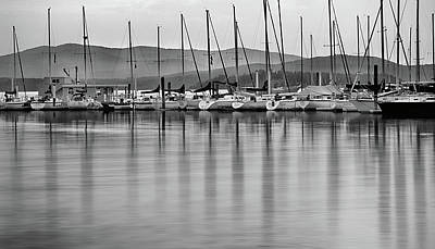Lake Pend Oreille Photograph - Sail Boats by Leland D Howard