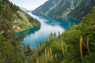 Mountain Photograph - Sary-chelek by Konstantin Dikovsky