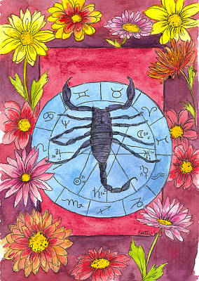 Painting - Scorpio by Cathie Richardson
