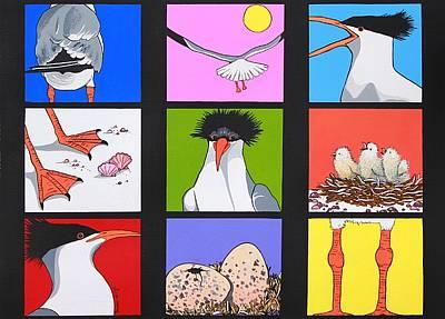 Sea Bird Kaleidoscope Art Print by Renata Wright