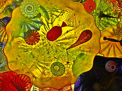 Sea Of Glass Art Print by James Mancini Heath