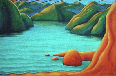 Painting - Secret Snapper Spot 2 by Barbara Stirrup