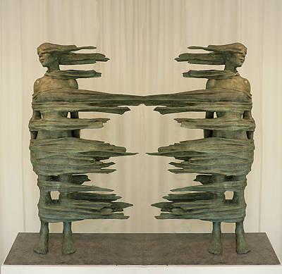 Separate Ways Art Print by Alex Hardie