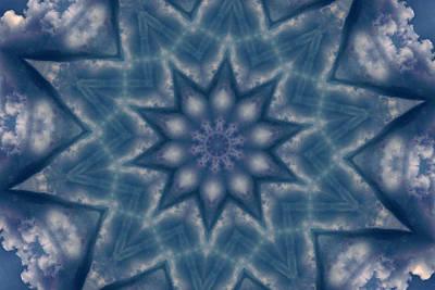 Sky Mandalas 6 Art Print