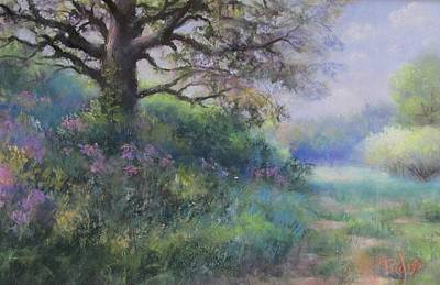 Pastel - Spring Walk by Bill Puglisi