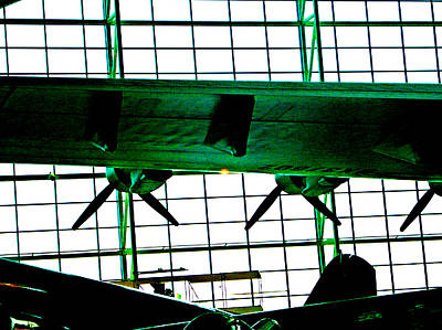 Spruce Goose Photograph - Spruce Goose Props by Katherine Adams