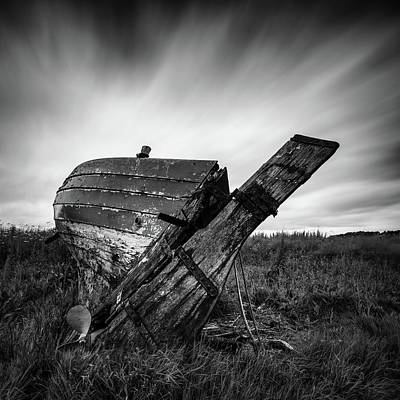 Royalty-Free and Rights-Managed Images - St Cyrus Wreck by Dave Bowman