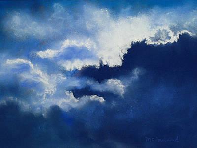 Stormy Sky Art Print by Lorraine McFarland