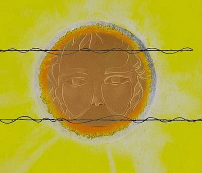 Sun Rays Mixed Media - Summer by Andrew Morse