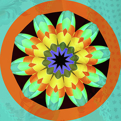 Terra Mixed Media - Summer Sizzle by Bonnie Bruno