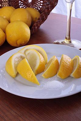 Taste Of Lemon Art Print by Christin Burrows