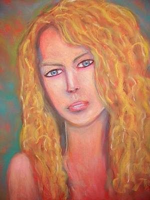 Taylor Swift Pastel - Taylor Swift by Jan Gilmore