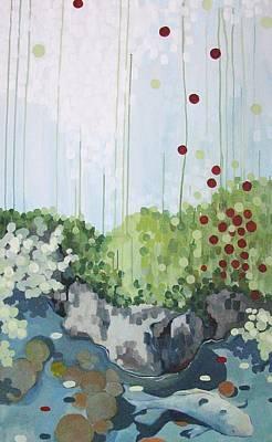 Japanese Tea Garden Painting - Tea Garden by Jamie Kivisto