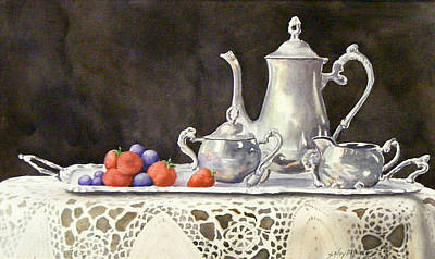 Tea Time  Original Art Print
