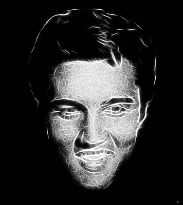 Elvis Presley Digital Art - Thank You Very Much by Tilly Williams