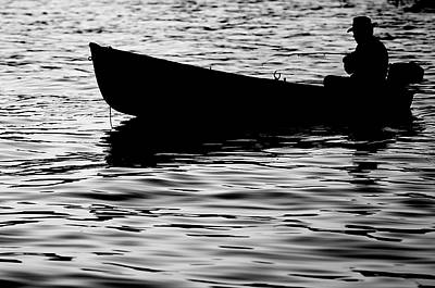 Art Print featuring the photograph The Old Fishermen by Pedro Cardona
