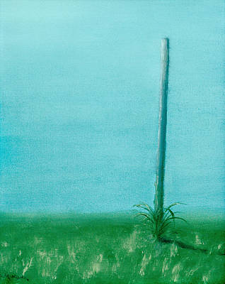 Painting - The Pole by Michael Morgan