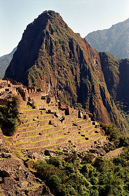 Physical Geography Photograph - The Ruins Of Machu Picchu, Peru, Latin America by Brian Caissie
