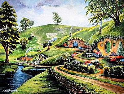 Landscapes Royalty-Free and Rights-Managed Images - The Shire by Andrew Read