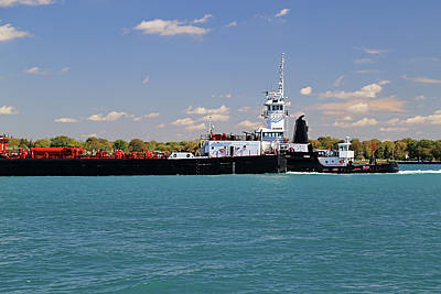 Photograph - Tug Michigan by Mary Bedy