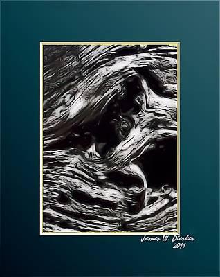 Twisted Art Print by James  Dierker