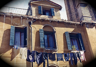 Photograph - Venetian Blue by JK McCrea