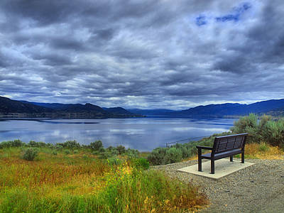 Photograph - View From A Bench by Tara Turner