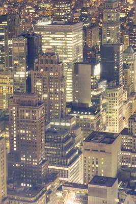 View Of City Art Print by Photo by Igor Svibilsky, www.igorsvibilsky.com