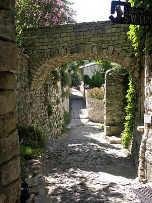 Photograph - Village Walk Provence by JK McCrea