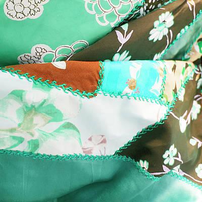 Terra Mixed Media - Vintage Quilt by Bonnie Bruno
