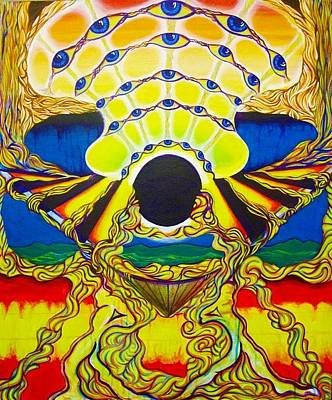 Viod  Movement Art Print by Ben Christianson
