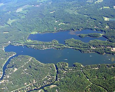 Photograph - W-042 Watosak Lamotte Lakes West End Shawano County by Bill Lang