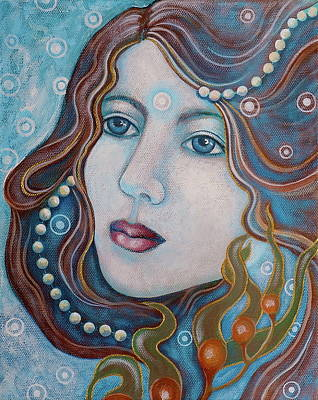 Painting - Water Dreamer by Sheri Howe