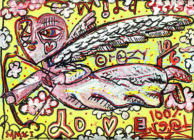 Wild Crazy Love Art Print by Robert Wolverton Jr
