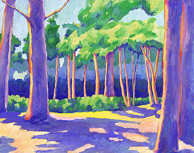 Wildcat Grove Art Print